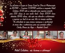 Cartão natal solidário