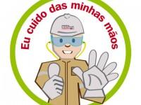 Logotipo - Eu cuido das minhas mãos