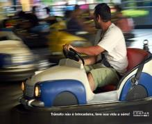 Segurança no trânsito - Use o sinto