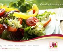 UP Restaurante - Conceito para web